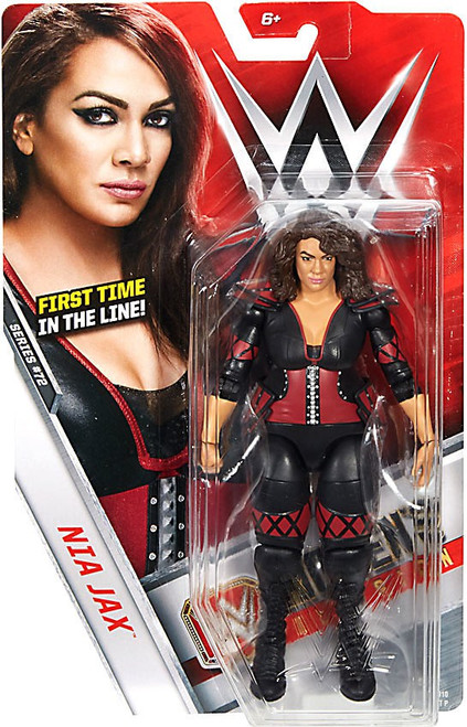 WWE Wrestling Series 72 Nia Jax Action Figure