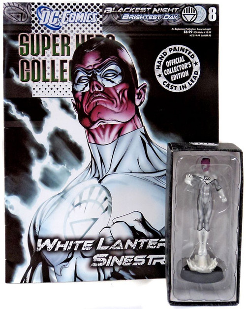 DC Green Lantern Blackest Night Collection White Lantern Sinestro Diecast Figure #18