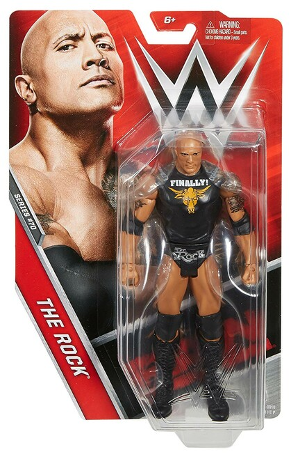WWE Wrestling Series 70 The Rock Action Figure