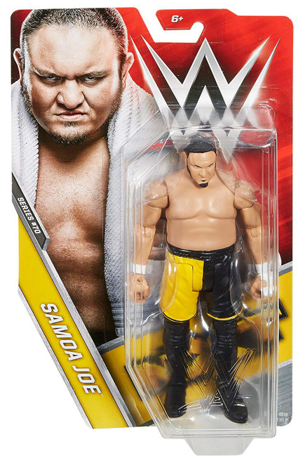 WWE Wrestling Series 70 Samoa Joe Action Figure