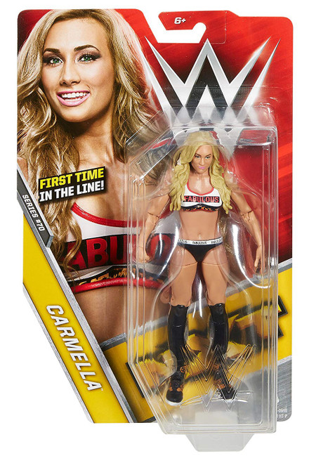WWE Wrestling Series 70 Carmella Action Figure