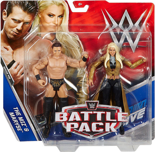 WWE Wrestling Battle Pack Series 46 The Miz & Maryse Action Figure 2-Pack
