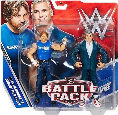 WWE Wrestling Battle Pack Series 46 Dean Ambrose & Shane McMahon Action Figure 2-Pack