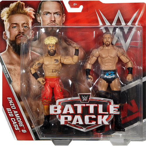 WWE Wrestling Battle Pack Series 45 Enzo Amore & Big Cass Action Figure 2-Pack