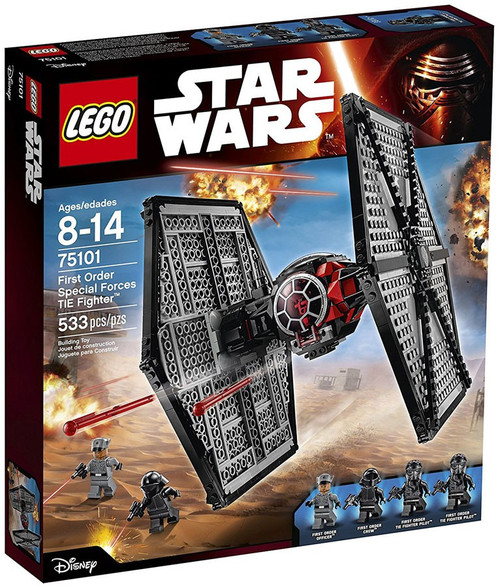 LEGO Star Wars The Force Awakens First Order Special Forces TIE Fighter Set #75101 [533 Pieces]