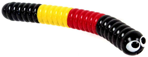 Slither.io Black, Red & Yellow Slither Figure [No Package]