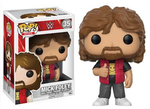 Funko WWE Wrestling POP! Sports Mick Foley Vinyl Figure #35 [Old School]