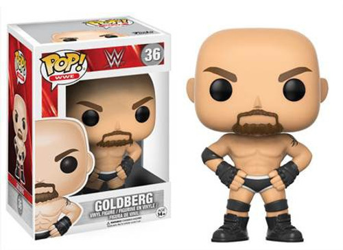 Funko WWE Wrestling POP! Sports Goldberg Vinyl Figure #36 [Old School]