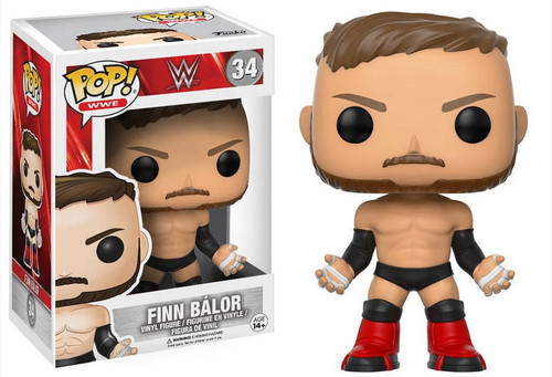 Funko WWE Wrestling POP! Sports Finn Balor Vinyl Figure #34 [Regular Version]