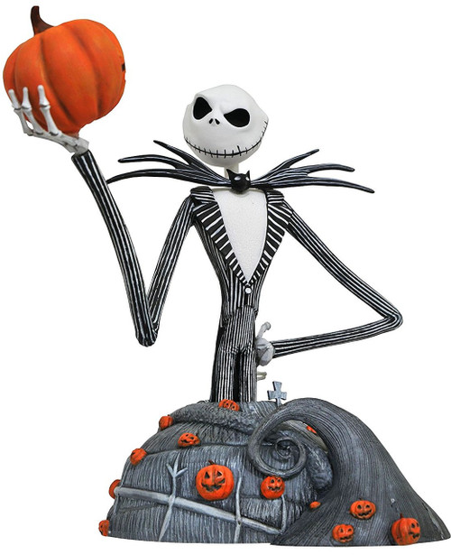 Nightmare Before Christmas Jack Skellington Bust