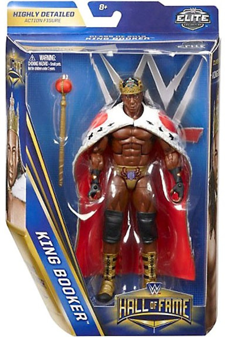 WWE Wrestling Elite Collection Hall of Fame King Booker Exclusive Action Figure