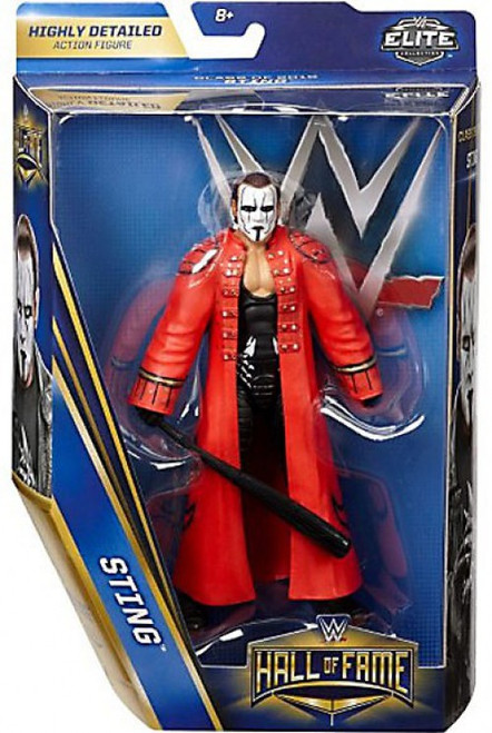 WWE Wrestling Elite Collection Hall of Fame Sting Exclusive Action Figure