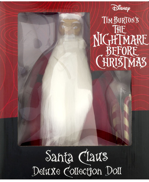 Nightmare Before Christmas Santa 6-Inch Deluxe Cloth Doll