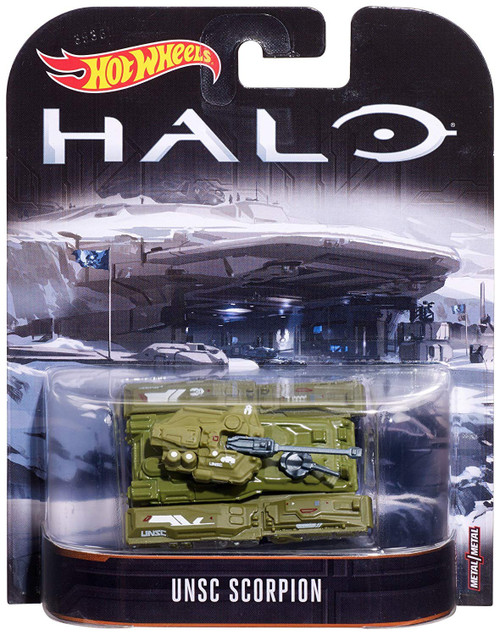 Hot Wheels Halo UNSC Scorpion Die-Cast Car