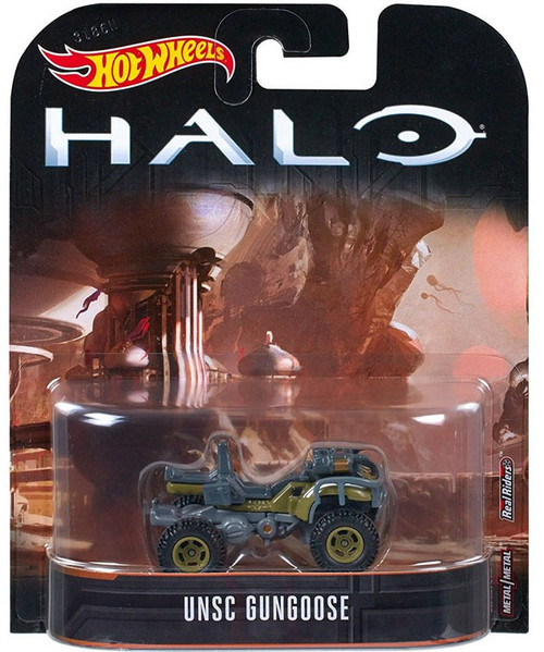 Hot Wheels Halo UNSC Gungoose Diecast Car