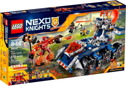 LEGO Nexo Knights Axl's Tower Carrier Exclusive Set #66547