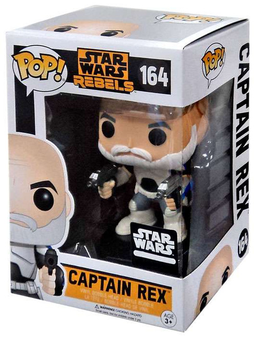 Funko Rebels POP! Star Wars Captain Rex Exclusive Vinyl Bobble Head #164