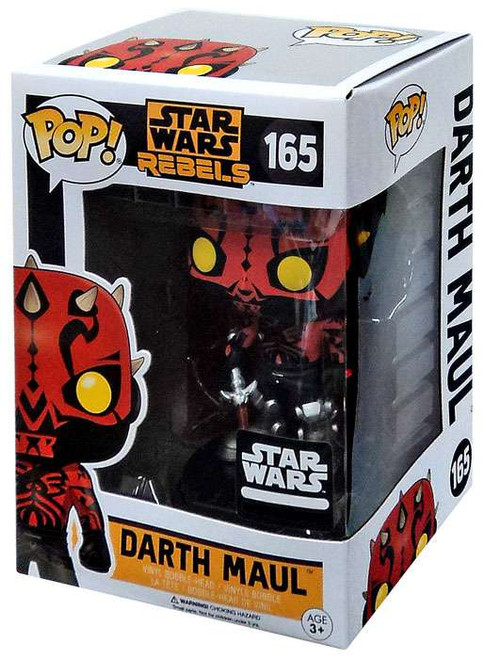Funko POP! Star Wars Darth Maul Exclusive Vinyl Bobble Head #165 [Rebels]