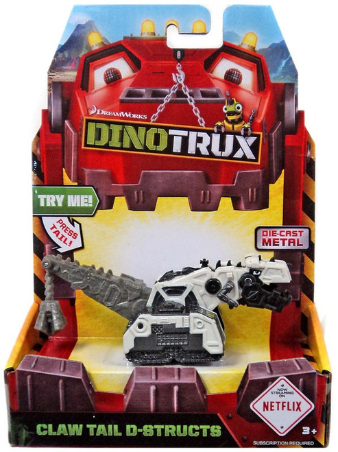 Dinotrux Claw Tail D-Structs Diecast Figure