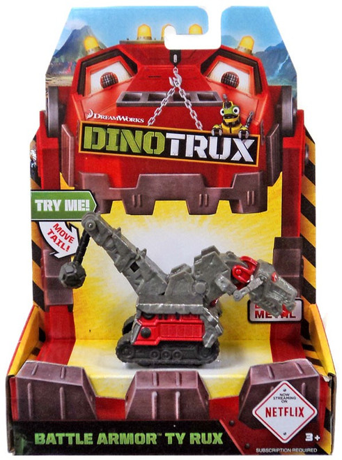 Dinotrux Battle Armor Ty Rux Diecast Figure