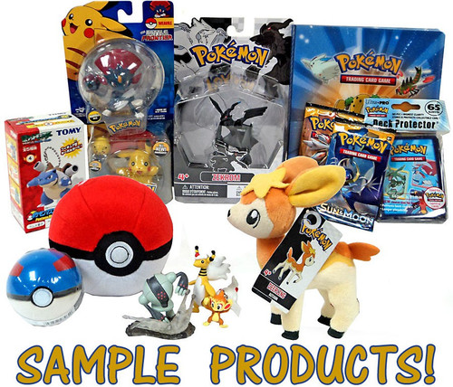 Pokemon MYSTERY GIFT BOX [RANDOM Goodies with Over $50 Value!]