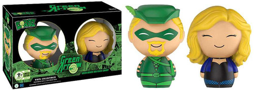 Funko DC Dorbz Green Arrow & Black Canary Exclusive Vinyl Figure 2-Pack