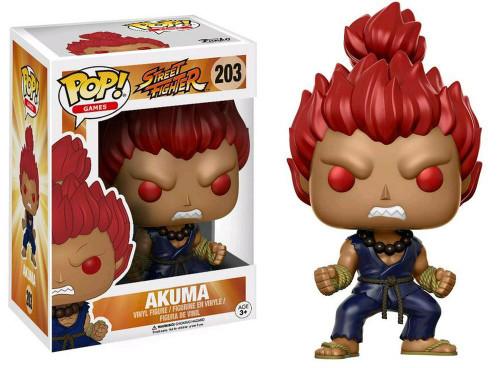Funko Street Fighter POP! Games Akuma Exclusive Vinyl Figure #203