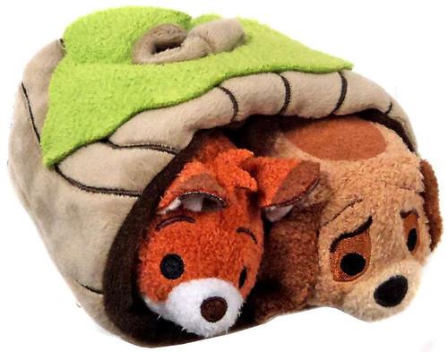 Disney Tsum Tsum The Fox & The Hound Exclusive Plush Set [Subscription Box]
