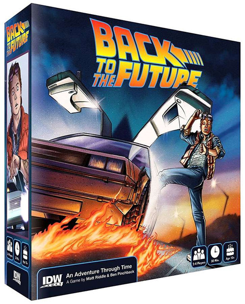 Back to the Future Board Game [Bonus Hot Wheels Delorean Included!]
