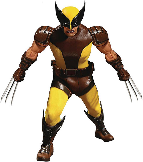 Marvel One:12 Collective Wolverine Action Figure [Brown Costume]