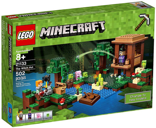 LEGO Minecraft The Witch Hut Set #21133