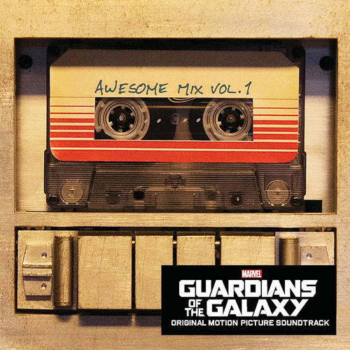 Marvel Guardians of the Galaxy Soundtrack CD