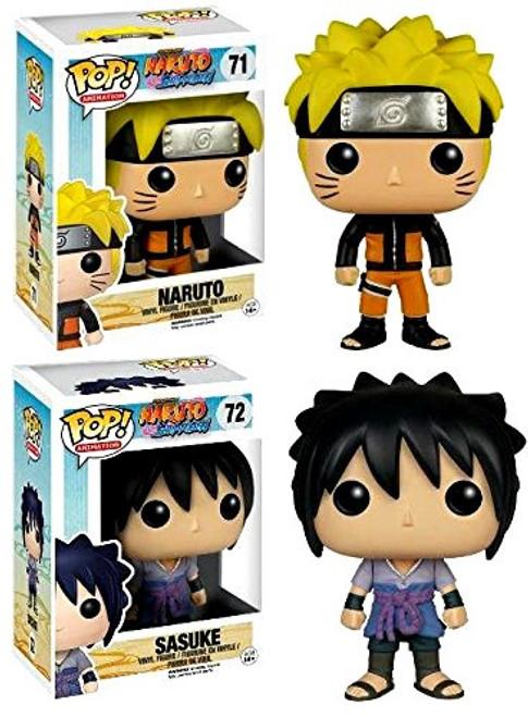 Funko POP! Anime Naruto & Sasuke Vinyl Figure