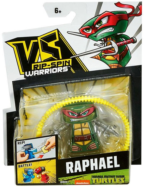 VS Rip-Spin Warriors Teenage Mutant Ninja Turtles Raphael Single Pack