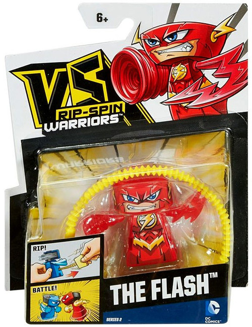 VS Rip-Spin Warriors DC Comics Series 2 The Flash Single Pack