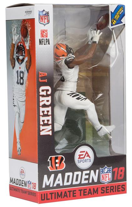 McFarlane Toys NFL Cincinatti Bengals EA Sports Madden 18 Ultimate Team Series 1 AJ Green Action Figure [White Uniform]
