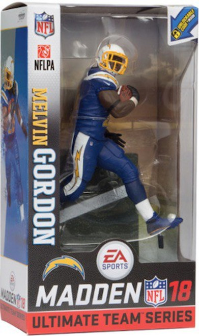 McFarlane Toys NFL Los Angeles Chargers EA Sports Madden 18 Ultimate Team Series 1 Melvin Gordon Action Figure