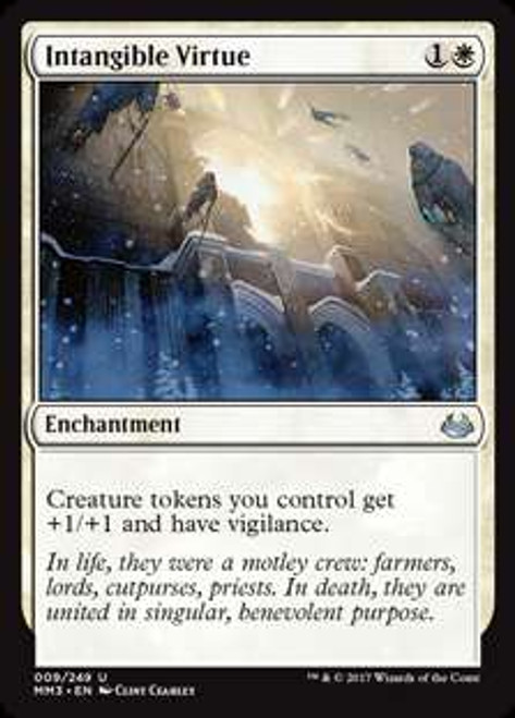MtG Modern Masters 2017 Edition Uncommon Intangible Virtue #9