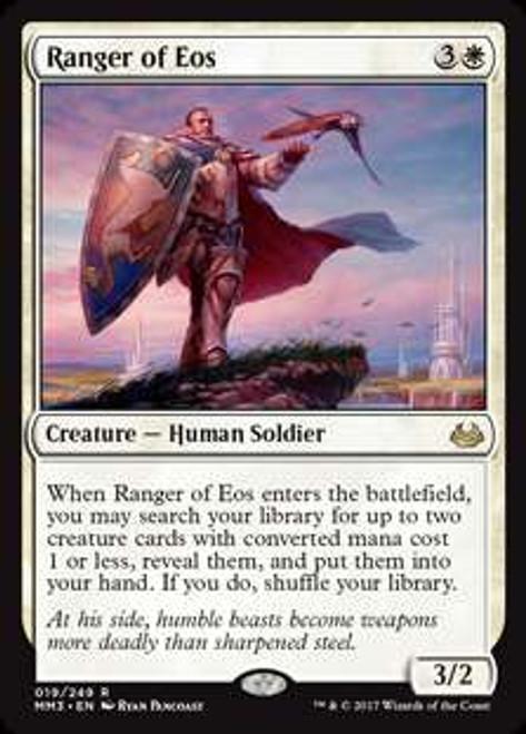 MtG Modern Masters 2017 Edition Rare Ranger of Eos #19