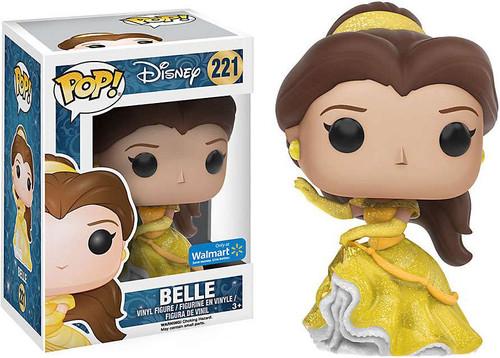 Funko Princess POP! Disney Belle Exclusive Vinyl Figure #221 [Glitter, Damaged Package]