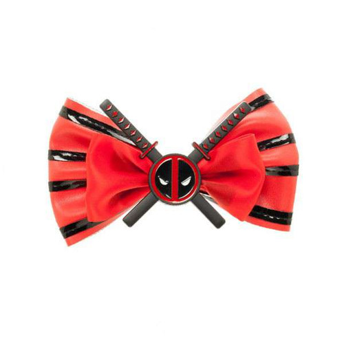 Marvel Deadpool Hair Bow Apparel