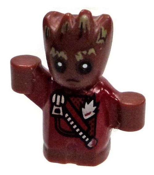 LEGO Marvel Guardians of the Galaxy Vol. 2 Baby Groot with Jacket Minifigure [Loose]