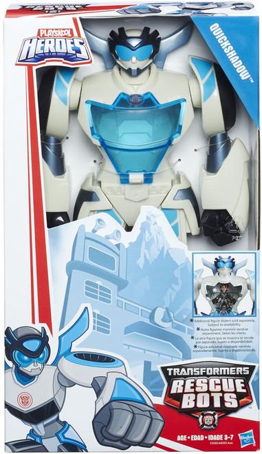 "Transformers Playskool Heroes Rescue Bots Quickshadow 11"" Action Figure [Epic Series]"