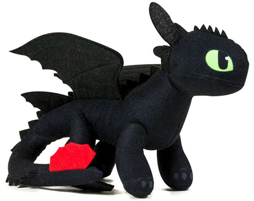 How to Train Your Dragon Dragons Toothless 11-Inch Plush