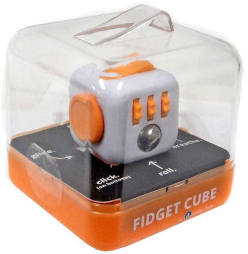 Fidget Cube Authentic Orange & White Fidget Cube
