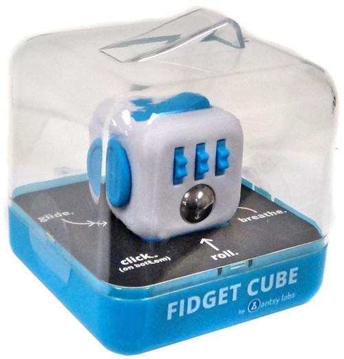 Fidget Cube Authentic Blue & White Fidget Cube