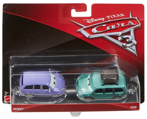 Disney / Pixar Cars Cars 3 Minny & Van Diecast 2-Pack