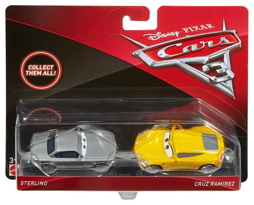 Disney / Pixar Cars Cars 3 Sterling & Cruz Ramirez Diecast 2-Pack