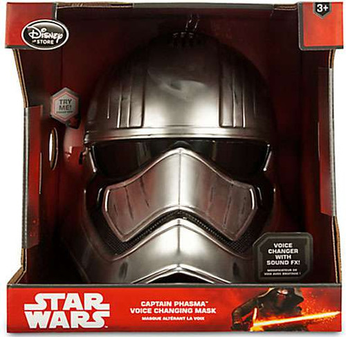 Star Wars The Force Awakens Captain Phasma Exclusive Voice Changing Mask [Damaged Package]