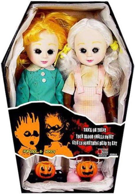 Living Dead Dolls Halloween Hemlock & Honey Exclusive Doll 2-Pack [Damaged Package]